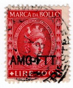 (I.B) Italy Revenue : Marca da Bollo 100L (AMG-FTT)