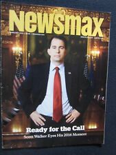Newsmax April 2014 Scott Walker Eyes His 2016 Movement [Single Issue Magazine]..