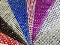 775 2.5-3mm Self Adhesive DIAMANTE Stick on Rhinestone Gems Sticky Gem Pearls