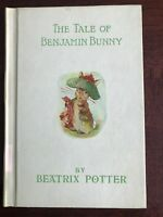The Tale Of Benjamin Bunny By Beatrix Potter 1932 Edition Easter Basket Gift