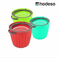 Hodeso Mini Magic Spin Mop with 1 Extra Mop Head  -RED