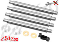 CopterX CX450-01-23 Feathering Shaft V2 Align T-rex Trex 450 SE AE