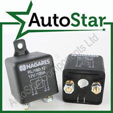 12V 100Amp ON / OFF normalmente Aperto 4 PIN relay (Dividi CARICABATTERIE ISOLANTE MAKE & BREAK