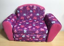 """Pull Out Sofa Sleeper Bed 18"""" Doll Furniture Compatible American Girl Type Dolls"""