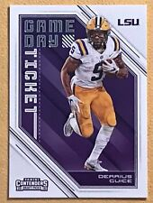 2018 Panini Contenders Draft DERRIUS GUICE Game Day Ticket LSU TIGERS 6