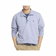 Men\u0027s Solid Polyester Long Sleeve Sleeve Polo, Rugby Casual Shirts