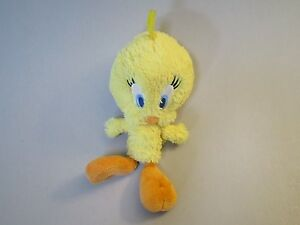 STUFFED TWEETY BIRD, cute Tweety Bird, Looney Tunes plush, Warner Bros plush