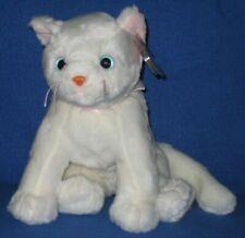 Ty Beanie Buddy White Cat Named Flip 3rd Generation MINT 1999