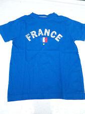 Tshirt garçon bleu FRANCE VERTBAUDET 6 ans comme neuf