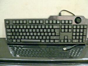 ASUS G01 KB G01KB Black Wired USB Keyboard BACKLIT RED