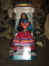 1999 PERUVIAN Barbie Doll W/ Baby DOTW Collector Edition #21506 NRFB