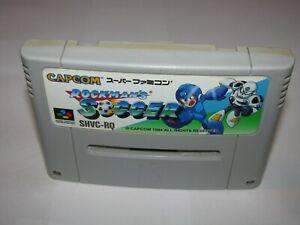 Rockman's Soccer Super Famicom SFC Japan import US Seller