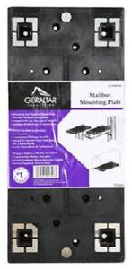 Solar, Gibraltar Universal Mailbox Mounting Bracket. PLMB0060