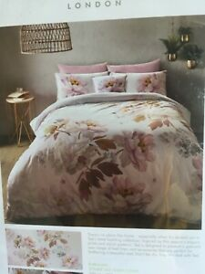 Ted Baker Butterscotch Double Duvet Cover and 2 Pillowcases New in packaging /