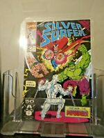 SILVER SURFER #58-NM- THE DEFENDERS!