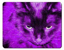 Tapis de souris et repose-poignets violet pour ordinateur