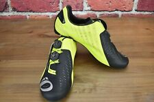 Lime Pearl Izumi PRO Leader v4 Cycling Carbon Bike Shoes Mens 43 EU 9.25 US