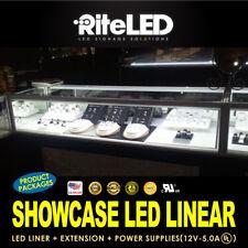 LED Showcase Display Bar 8ft Kit 3000 4000 6000 9000K Top Quality Bright