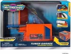 Micro Machines 2 in 1 Transforming Playset - Tuner Garage