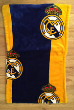 Real Madrid Fc Soft Velour Pillow Cases (2) 30x18 Officially Licensed