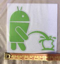 Finestra auto decalcomania-Alieno Android P *** ing su Apple DIVERTENTE ADESIVO VINILE, Furgone, Laptop