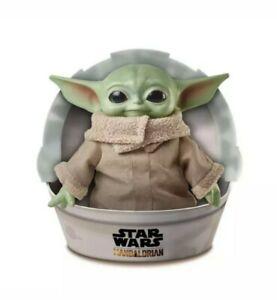 "Star Wars Baby Yoda The Child 11"" Plush Toy - Mandalorian Mattel Disney Gift"