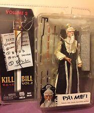 Pai Mei Action Figure - Kill Bill Volume 2 - Neca Reel Toys 2005 - Rare