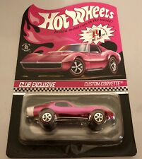 2019 Hot Wheels 19th Nationals Convention RLC Pink Party Car Custom Corvette