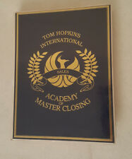 Tom Hopkins Academy Of Master Closing 12 Cassettes Unused Workbook Vguc