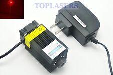650 NM 660 NM 250 mW Rosso Diodo Laser Modulo con Adattatore 12 V ad alta potenza lazers