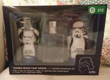 Fab Star Wars Storm Trooper Fragrance Set SDS - After Shave, Body Wash & Scent