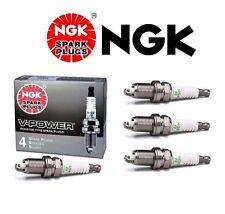 4 X NGK V-Power Resistor OEM Power Performance Spark Plugs BKR5E # 7938