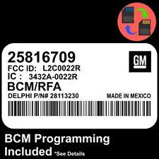 25816709 W/ PROGRAMMING 06 07 08 Colorado / Canyon BCM BCU Body Control Module