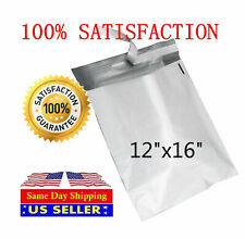 200 12x16 White Poly Mailers Envelopes Bags 12 X 16 St Shipmailers