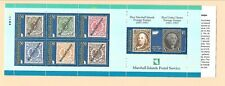 Marshall Isl. Sc 636A Nh issue of 1997 - Booklet - Stamps-On-Stamps