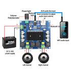 TDA7498 Bluetooth5.0 Digital Amplifiers Board 2 Channel Audio module 2*100W AUX
