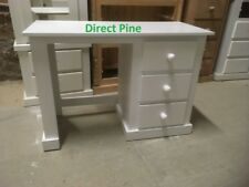 AYLESBURY 3 DRAWER DRESSING TABLE WHITE NO FLAT PACKS SPECIAL OFFER PRICE!!