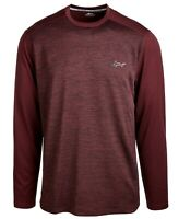 Greg Norman Men's T-Shirt Red Size Medium M Moisture-Wicking Tee $45- 559