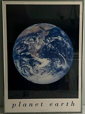 """Planet Earth Collection Print 24 x 34"""", Professionally Framed, Anodized Aluminum"""