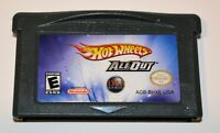 HOT WHEELS: ALL OUT NINTENDO GAMEBOY ADVANCE SP GBA