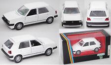SCHABAK 1002 VW Golf II Fünftürer, alpinweiß, ca. 1:43