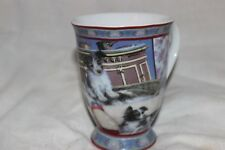 Cup Mug Tasse à café Dogs Terriers  Puppy Bows Fine China Dog