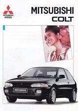MITSUBISHI COLT 1300 1600 1800 GTi 16V Klassiker Prospekt Brochure 1992 84