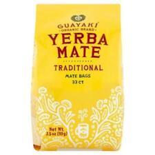 Guayaki Traditional Organic Yerba Mate, Traditional 33 Tea Bag Count