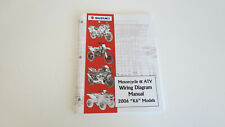 "Suzuki Motorcycle & Atv Wiring Diagram Manual, 2006 ""K6"" Models 99923-54006"
