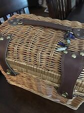 Picnic Time Napa Wine And Cheese Picnic Basket / With Wine Glasses