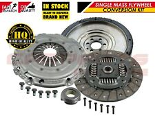 FOR AUDI A3 8P 1.9 TDi DUAL SOLID MASS FLYWHEEL CLUTCH CONVERSION BXE BLS BKC