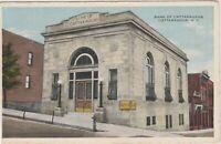 NEW YORK Bank of CATTARAUGUS Vintage  Postcard -1921- *Free Shipping*