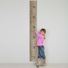 Kids Growth Chart Decal Stickers Wall DIY Applications Home Decor Height Ruler