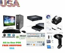 Low Price Full Pos All In One Point Of Sale System Combo Kit Retail Store 17inch